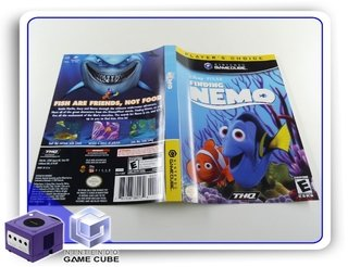 Encarte Finding Nemo Original Gamecube