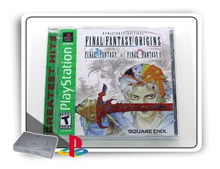 Final Fantasy Origins Original Playstation 1 Ps1 - Novo
