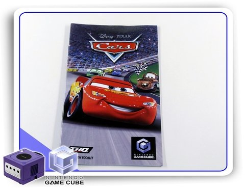 Manual Cars Original Nintendo Gamecube