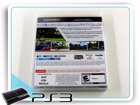 Sports Champions Original Playstation 3 Ps3 - comprar online