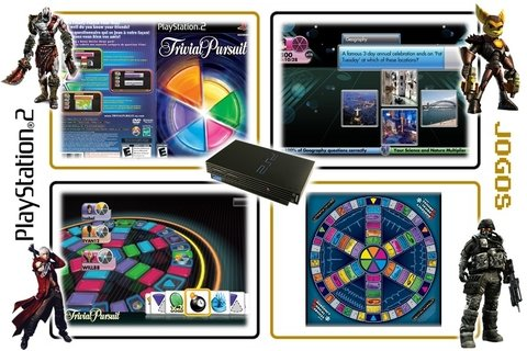 Trivial Pursuit Original Playstation 2 Ps2 - Radugui Store