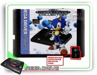 Flash Card Everdrive China Version Para Mega Drive + 8gb