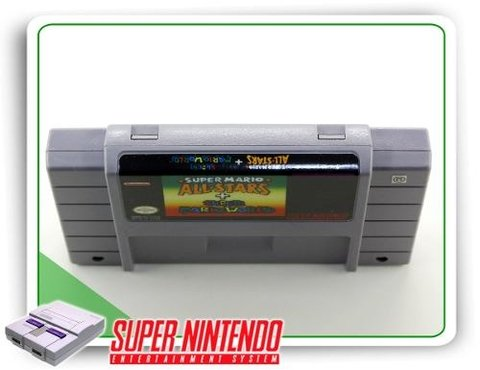 Super Mario All-stars - Super Mario World Original Snes na internet