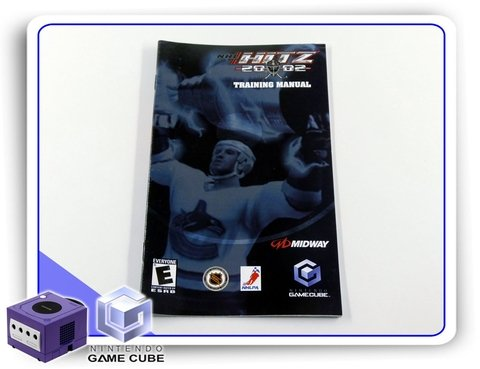Manual Nhl Blitz 2002 Original Nintendo Gamecube