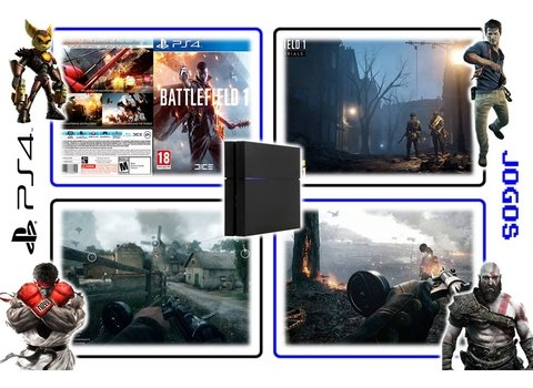 Battlefield 1 Original Playstation 4 Ps4 - Mídia Física - loja online