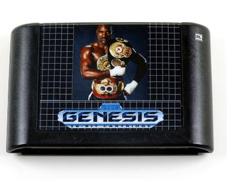 Evander Holyfields Real Deal Boxing Original Mega Drive Sega