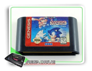 Sonic Wacky Worlds Creativity Studio Original Mega Drive