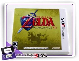 The Legend Of Zelda Ocarina Of Time 3d Original Nintendo 3ds