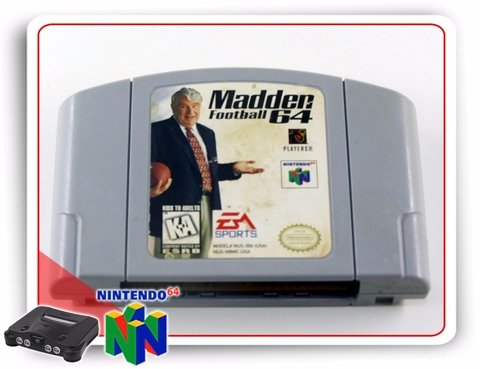 Nintendo 64 Madden Football 64 N64 Original