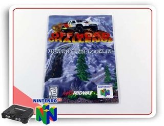 Manual Off Road Challenge Original Nintendo 64 N64