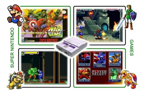 Imagem do Marvel Super Heroes War Of The Gems Super Nintendo - Novo