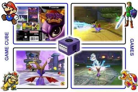 Spyro Enter The Dragonfly Original Gamecube - loja online