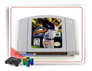 Ken Griffeys Jr Major League Baseball Nintendo 64 N64