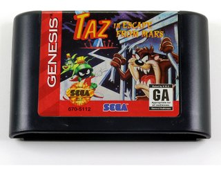 Taz In Escape From Mars Original Sega Mega Drive - Genesis