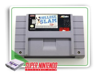 College Slam Original Snes Super Nintendo