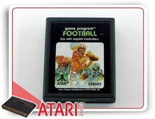 Football Cartucho Atari Original
