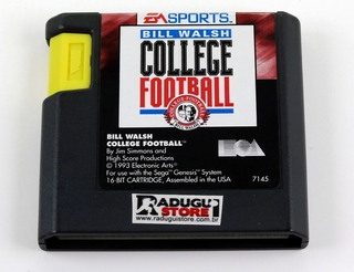Bill Walsh College Football Original Sega Mega Drive Genesis