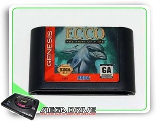 Ecco The Tides Of Time Original Sega Genesis - Mega Drive