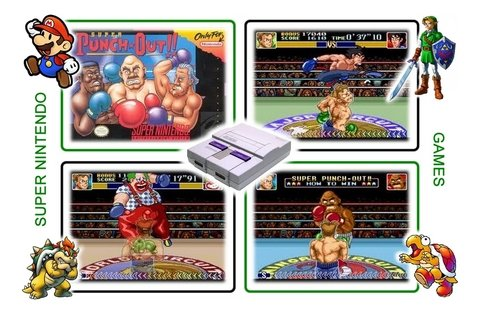 Imagem do Super Punch-out Super Nintendo Snes - Novo Com Save