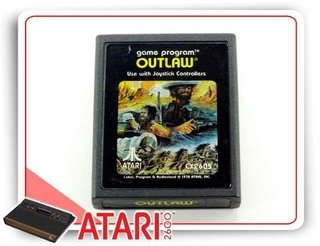 Outlaw Cartucho Original Atari