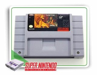 The Lion King Super Nintendo Original Snes
