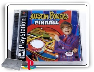 Austin Powers Pinball Original Playstation 1 Ps1