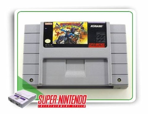 Sunset Riders Original Snes Super Nintendo