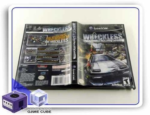 Wreckless The Yakuza Missions Original Gamecube - comprar online