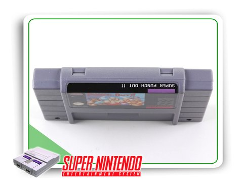 Super Punch-out Super Nintendo Snes - Novo Com Save - comprar online