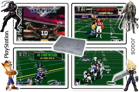Nfl Blitz  Original Playstation 1 Ps1 - comprar online