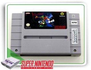 Nightmare Busters Original Super Nintendo Snes - Repro
