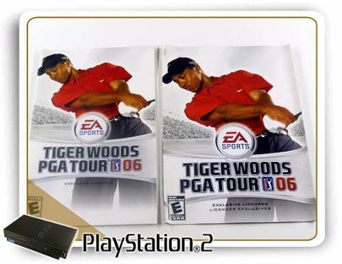 Tiger Woods Pga Tour 06 Original Playstation 2 PS2 - Radugui Store