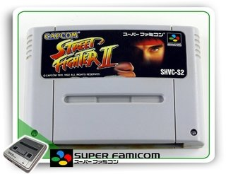 Street Fighter 2 Sfc Original Super Famicom