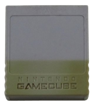 Memory Card Original Nintendo Gamecube 59 Blocos Cinza 001