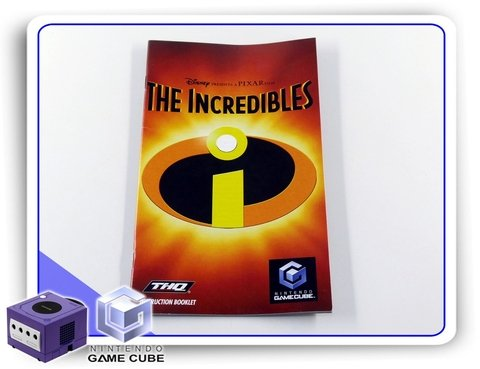 Manual The Incredibles Original Gamecube Nintendo