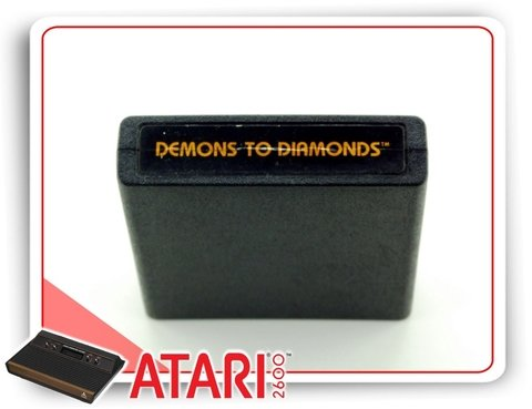 Demons To Diamonds Atari Cartucho Original na internet
