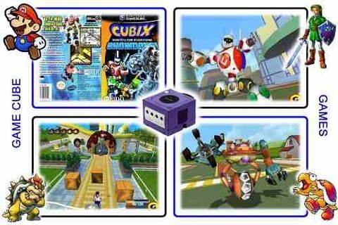 Cubix Robots For Everyone Shodown Original Gamecube Gc - Radugui Store