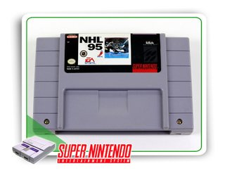 Nhl 95 Original Super Nintendo Snes