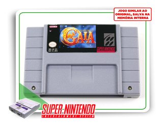 Illusion Of Gaia Super Nintendo Snes - Novo Com Save