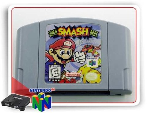 Super Smash Bros Nintendo 64 Original - N64