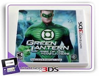 Green Lantern Rise Of The Manhunters Original Nintendo 3ds