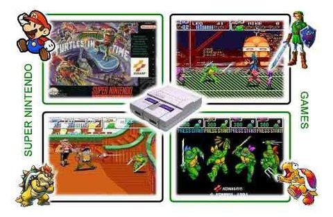 Tmnt 4 Turtles In Time Super Nintendo Snes Original - loja online