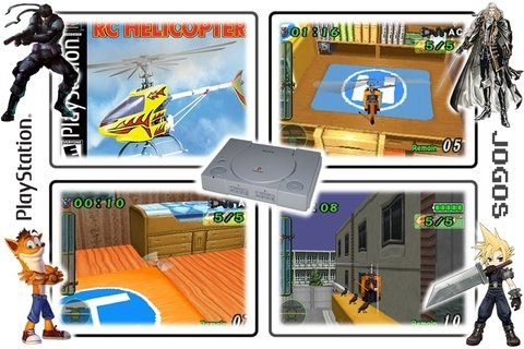 Rc Helicopter Original Playstation 1 Ps1 - Radugui Store