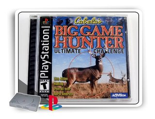Cabellas Big Game Hunter Original Playstation 1 Ps1