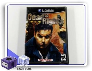 Dead To Rights Original Nintendo Gamecube