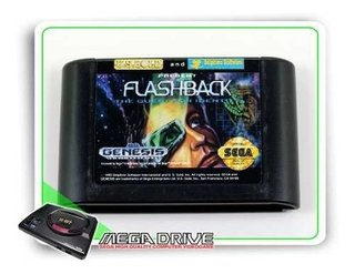 Flashback The Quest For Identity Original Sega Mega Drive