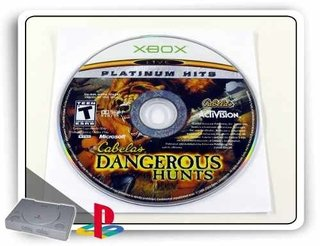 Cabelas Dangerous Hunts Original Xbox Clássico