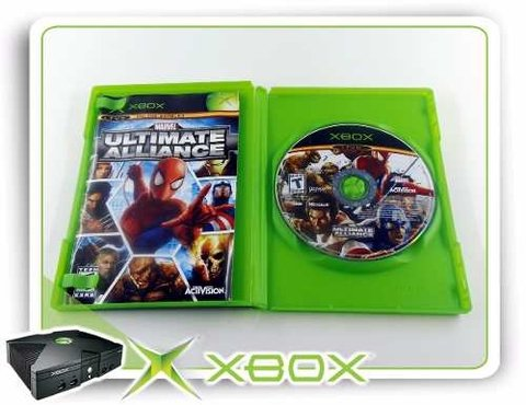 Marvel Ultimate Alliance Original Xbox Clássico Xbox na internet