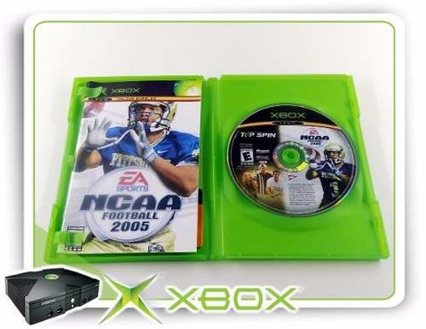 Ncaa Football 2005 + Top Spin Original Xbox Clássico na internet