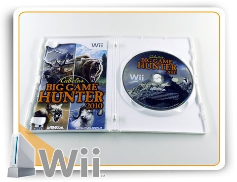 Cabelas Big Game Hunter 2010 Original Nintendo Wii na internet